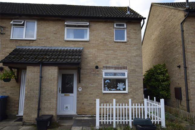 Thumbnail End terrace house to rent in Thorney Leys, Witney, Oxfordshire