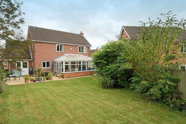 Thumbnail Detached house for sale in Millbeck Close, Weston, Crewe