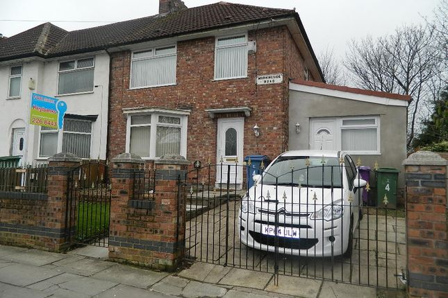 Thumbnail End terrace house for sale in Morningside Road, Norris Green, Liverpool