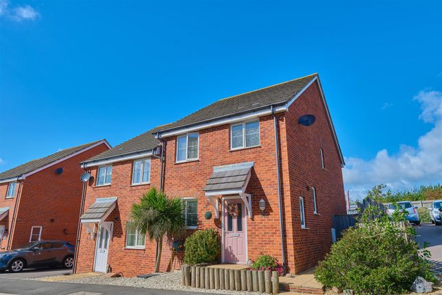 Thumbnail Semi-detached house for sale in Coxwell Close, Seaford