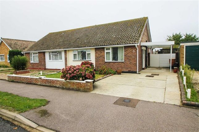 Thumbnail Semi-detached bungalow for sale in Sycamore Way, Kirby Cross, Frinton-On-Sea