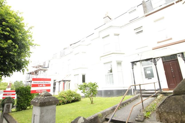 Thumbnail Flat to rent in Rochester Road, Plymouth, Pl 4