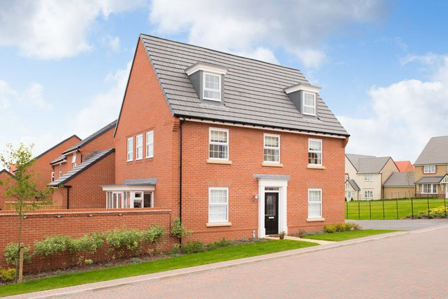 "Thumbnail Detached house for sale in ""Maddoc"" at Yafforth Road, Northallerton"