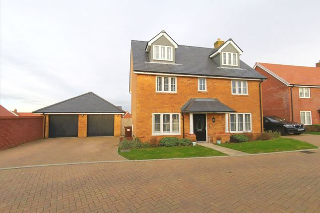 Thumbnail Detached house for sale in Lessing Lane, Stone Cross, East Sussex