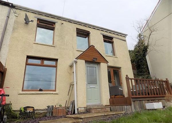 Thumbnail End terrace house for sale in Heol Gerrig, Abertillery