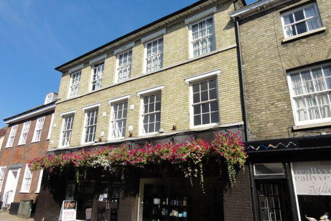 Thumbnail Flat to rent in Churchgate Street, Bury St. Edmunds