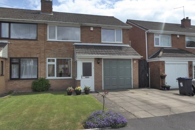 Thumbnail Semi-detached house for sale in Old Moat Drive, Birmingham