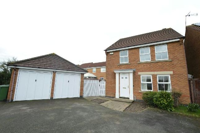 Thumbnail Detached house for sale in Murby Way, Thorpe Astley, Leicester
