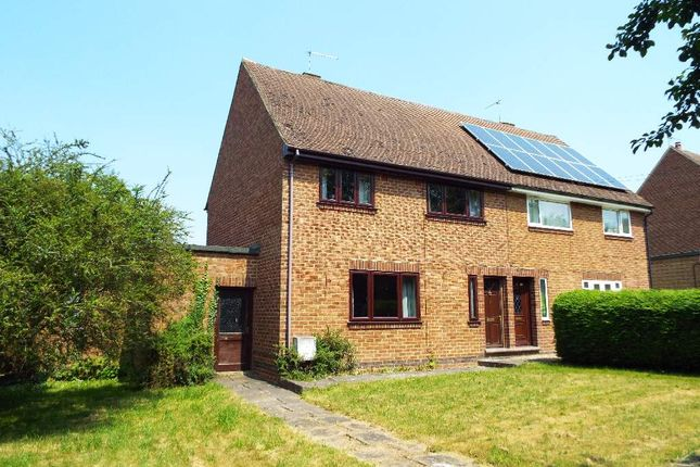 Thumbnail Semi-detached house for sale in Bypassway, Denton, Northamptonshire