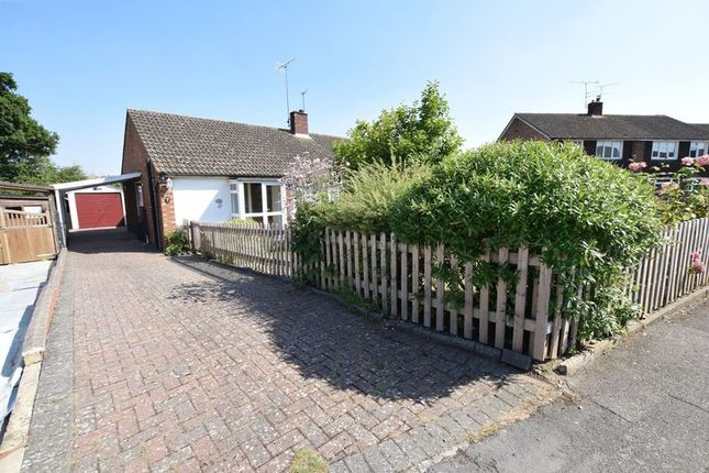 Thumbnail Semi-detached bungalow for sale in Welbeck Avenue, Aylesbury