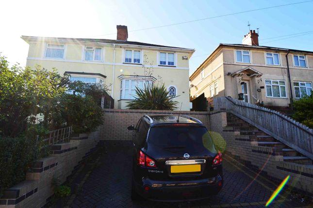 Thumbnail Semi-detached house to rent in Kendal Rise Road, Rednal, Birmingham