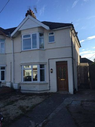 Thumbnail Semi-detached house to rent in Ridgefield Road, Oxford