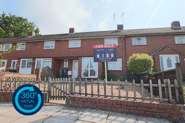 Thumbnail Terraced house for sale in Thorn Close, Exeter