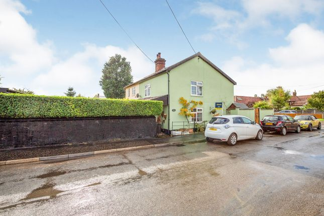 Thumbnail Semi-detached house for sale in King Street, East Harling, Norfolk