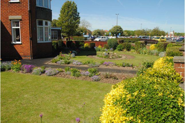Front Garden of Arcadia Crescent, Skegness PE25