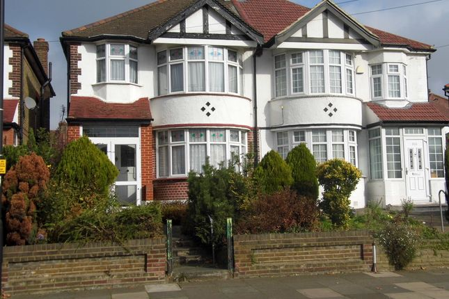 Thumbnail Semi-detached house for sale in Bury Street West, Bush Hill Park Borders