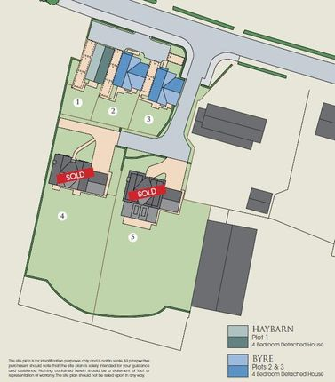 Site Plan of 'the Byre', Plot 2, Jacksmere Lane, Scarisbrick L40, 9Rs
