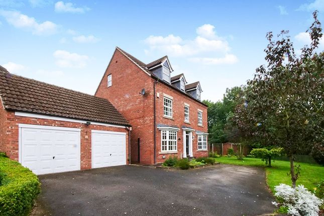 Thumbnail Detached house for sale in Woburn Close, Strensall, York