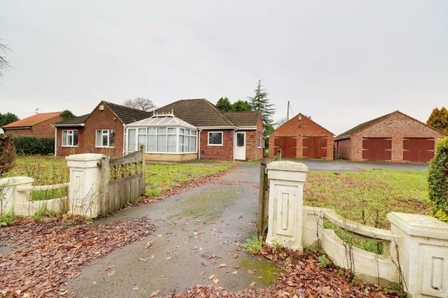 Thumbnail Detached bungalow for sale in Holme, Scunthorpe