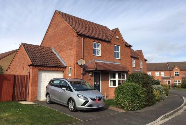 Thumbnail Detached house to rent in Gloucester Close, Bracebridge Heath, Lincoln