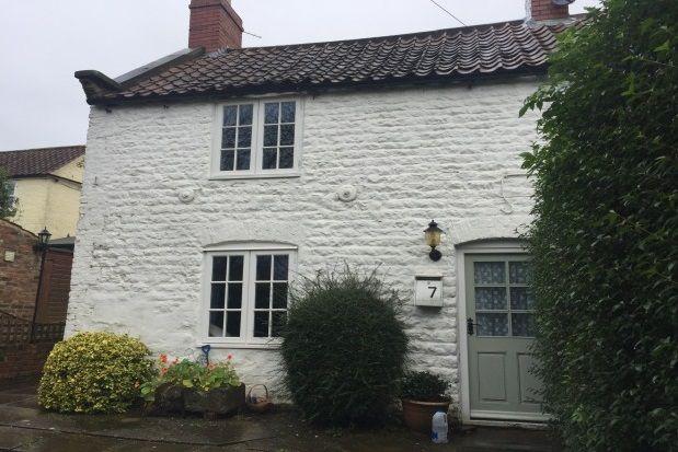 Thumbnail Terraced house to rent in Burythorpe, Malton