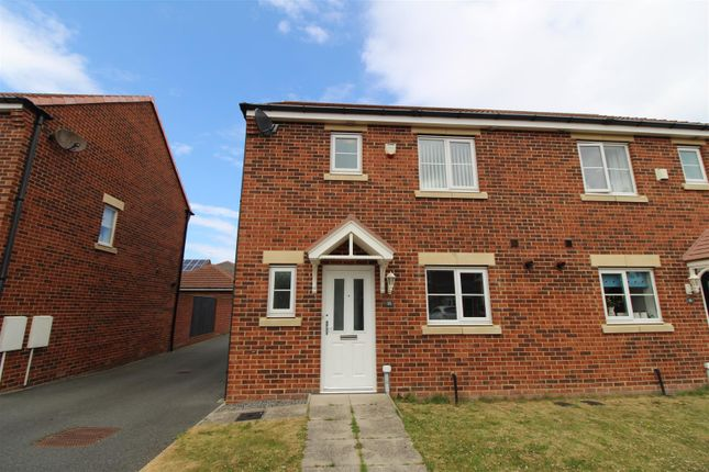 3 bed semi-detached house to rent in Blackhaugh Drive, Seaton Delaval, Whitley Bay NE25