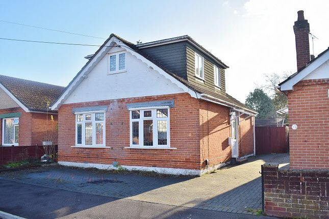 Thumbnail Detached bungalow for sale in Mayfield Avenue, Totton, Southampton, Hampshire