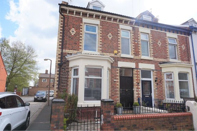 Thumbnail End terrace house for sale in Grosvenor Road, Wallasey