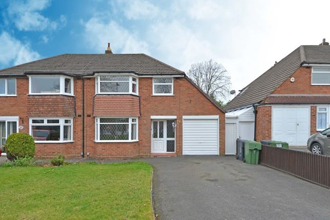 3 bed semi-detached house for sale in Grange Crescent, Rubery, Birmingham