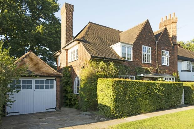 Thumbnail Semi-detached house for sale in Temple Fortune Hill, Hampstead Garden Suburb, London