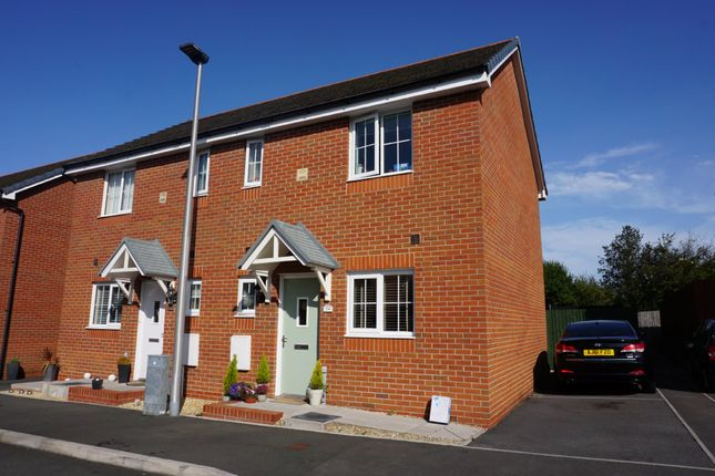 Thumbnail Semi-detached house for sale in Heol Y Gigfran, Cefneithin, Llanelli