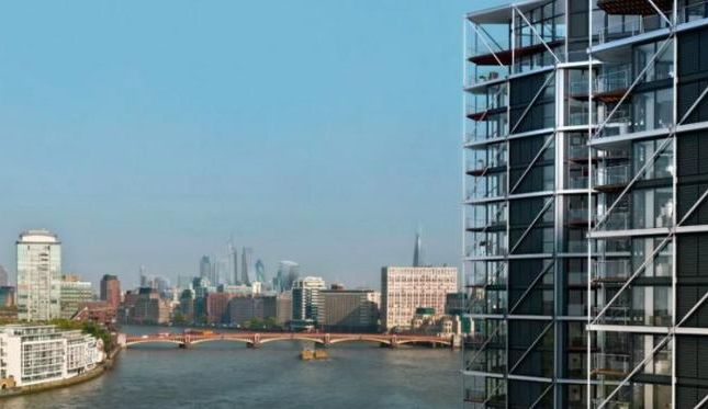Thumbnail Flat for sale in Riverlight 3, Nine Elms Lane