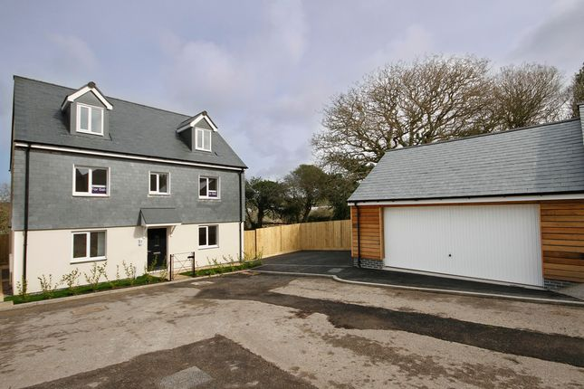 Thumbnail Detached house for sale in Ringwell Hill, Bissoe Road, Carnon Downs, Truro