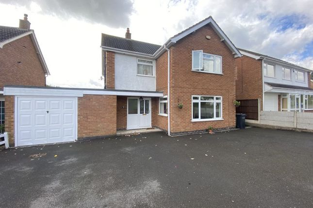 Thumbnail Detached house for sale in Coombe Rise, Oadby