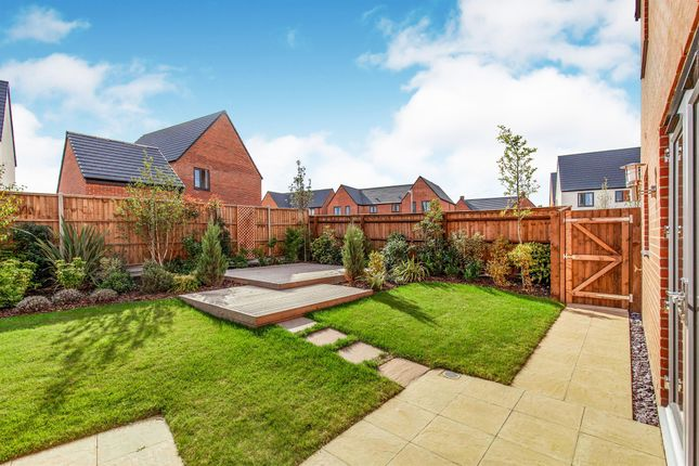 Thumbnail Town house for sale in The Avenue, Kier Living, Derby Road, Wingerworth, Chesterfield
