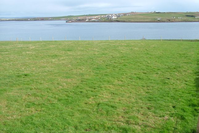 Thumbnail Land for sale in Site Near Quoys, Lyness, Hoy