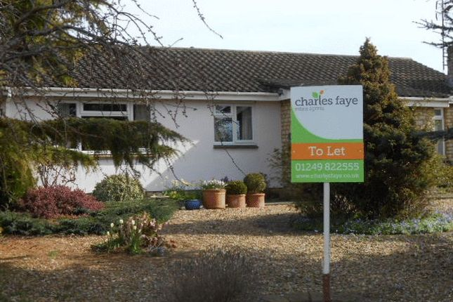Thumbnail Detached bungalow to rent in Sarum Way, Calne