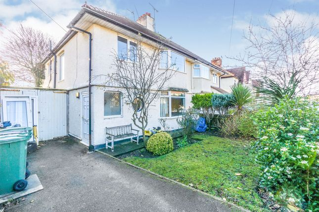 Thumbnail Semi-detached house for sale in Ashford Road, Meols, Wirral