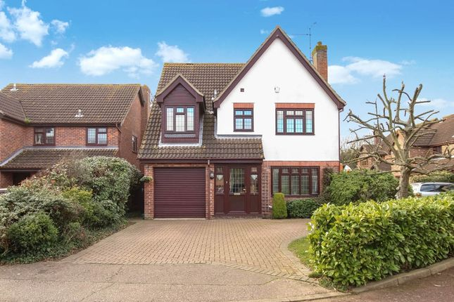 Thumbnail Detached house for sale in Wakes Colne, Wickford, Essex