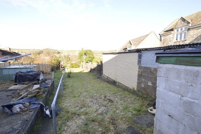 Rear Garden of Radstock Road, Midsomer Norton, Radstock, Somerset BA3