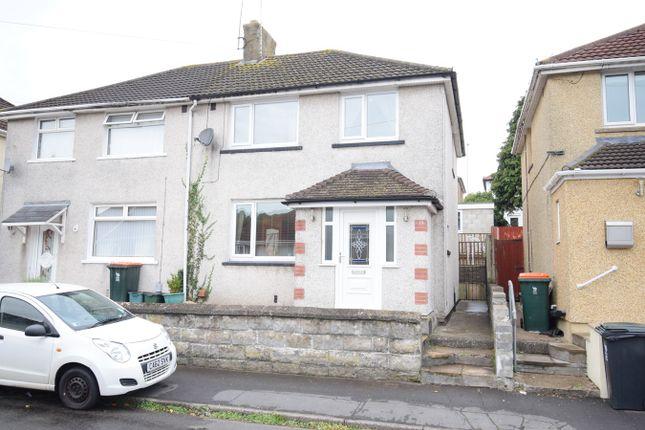 Thumbnail Semi-detached house for sale in Graig Park Villas, Malpas, Newport