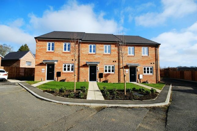 Terraced house for sale in Kingsley Close, St. Georges Wood, Morpeth