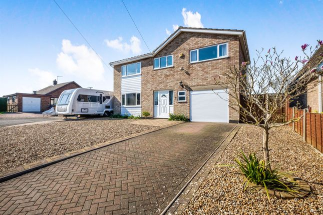 Thumbnail Detached house for sale in Farm Close, Bungay