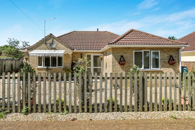 Thumbnail Detached bungalow for sale in Station Road, Attleborough
