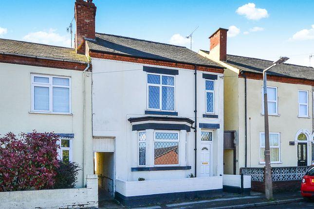 Thumbnail End terrace house for sale in Walker Street, Eastwood, Nottingham