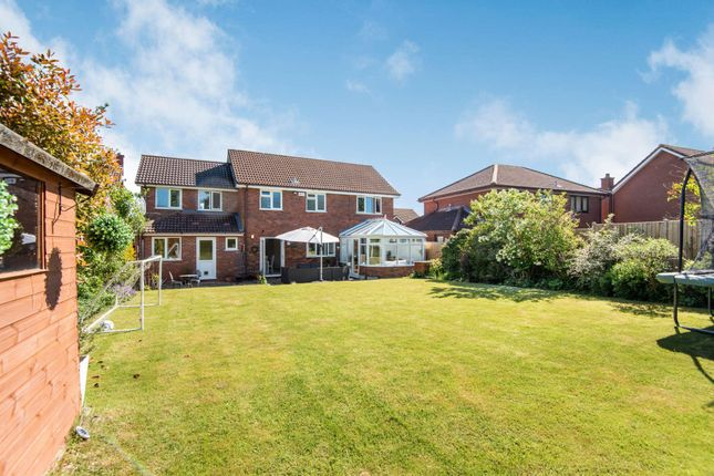 Thumbnail Detached house for sale in Grandborough Drive, Solihull, West Midlands