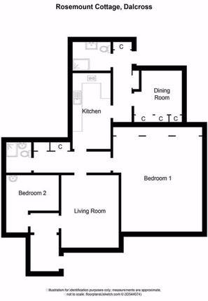 Floor Plan of Kerrowaird, By Dalcross, Inverness IV2