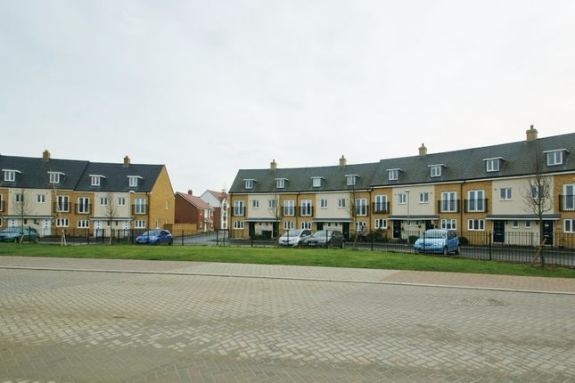 Thumbnail Terraced house to rent in Jack Dunbar Place, Repton Park, Ashford