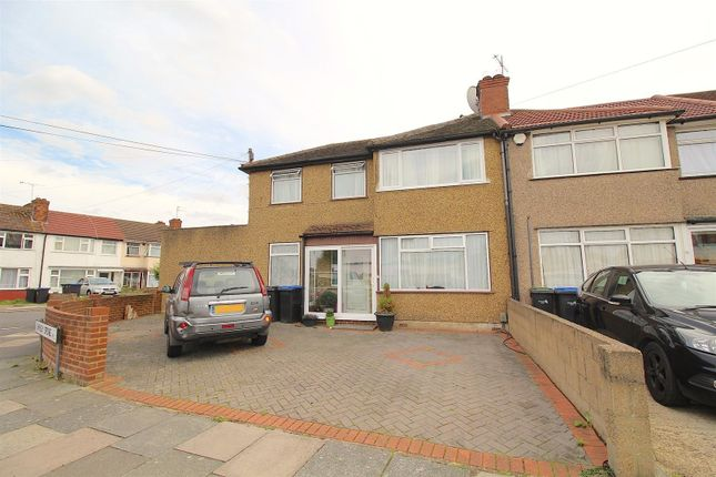 Thumbnail End terrace house for sale in Shirley Grove, Edmonton
