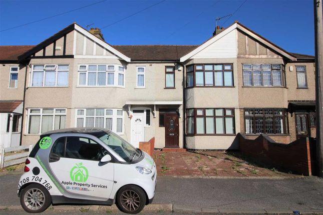 Thumbnail Terraced house to rent in Cherry Tree Close, Rainham